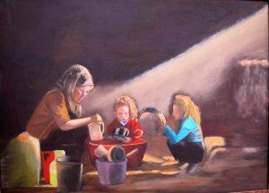 Luces y sombras - 60x80cm - Óleo sobre lienzo