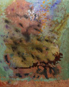 Aportacio a la conjectura de Colletz - 100x81cm - Técnica mixta sobre lienzo