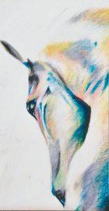 Anacleta - 100x70cm - Crayones sobre papel fotográfico