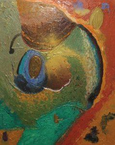 Cosmos - 81x65cm - Óleo sobre lienzo