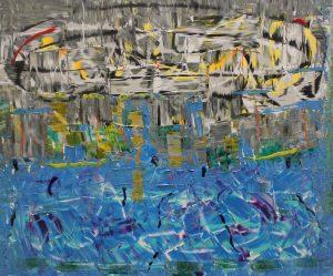 L´obrera rusa d´alt manyo visualitza la caiguda de la plutja del plaer - 61x50cm - Técnica Mixta sobre lienzo