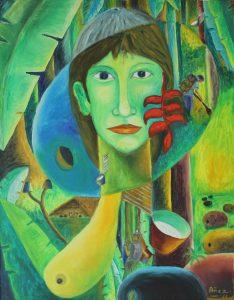 Abandono y olvido - 92x71cm - Óleo sobre lienzo (2010)