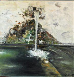 Fuentesolan - 46x55cm - Óleo sobre lienzo