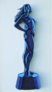 La soberbia - 120x60cm - Escultura de madera formada por 115 piezas (2012)