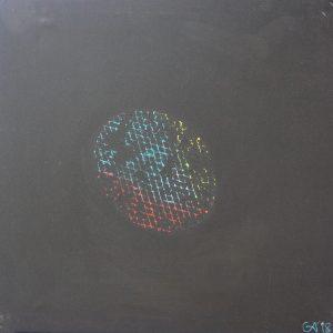 La notte quindicci - 60x60cm - Acrílico sobre lienzo