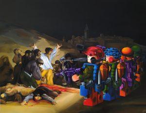 Legoya - 180x140cm - Acrílico sobre lienzo