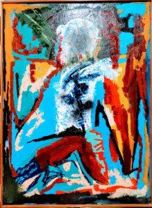 Color's fragmentació - 100x73 - Óleo sobre lienzo