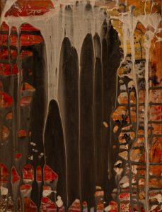 Catedrales naturales - 40x30cm - Acrílico sobre lienzo