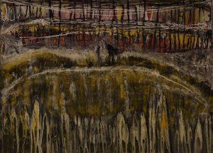 Los toros desde la barrera - 50x70 cm - Acrílico sobre lienzo