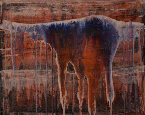 Mundos Paralelos II - Se caen los velos - 40x50cm - Acrílico sobre lienzo
